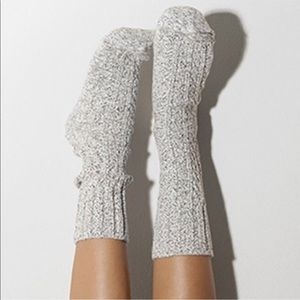 Luxury Cable Knit Boot Socks